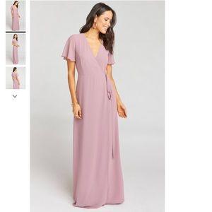 Show Me Your Mumu Noelle Flutter Wrap Dress